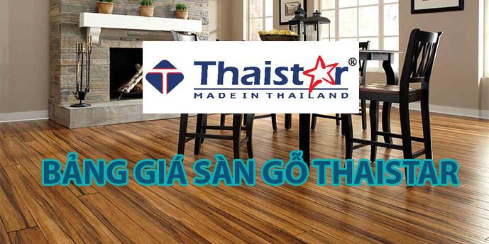 Bảng giá sàn gỗ ThaiStar