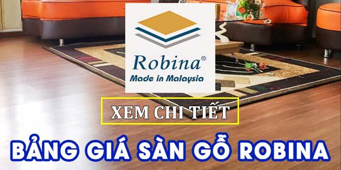 Bảng giá sàn gỗ Robina Malaysia