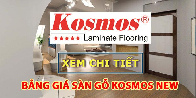 Xem chi tiết báo giá sàn gỗ Kosmos New 2019