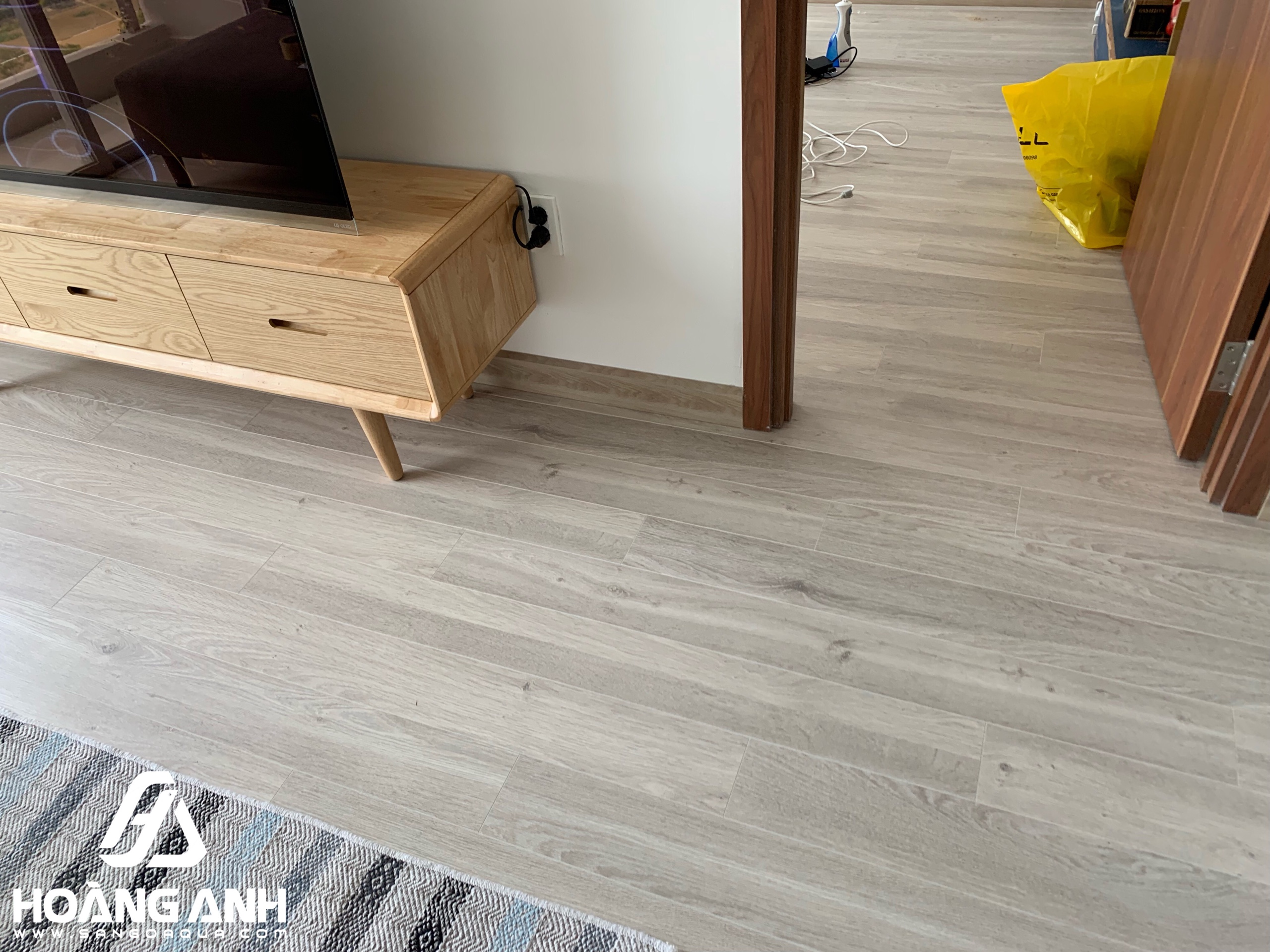 Công trình sàn gỗ Egger 10mm EPL051