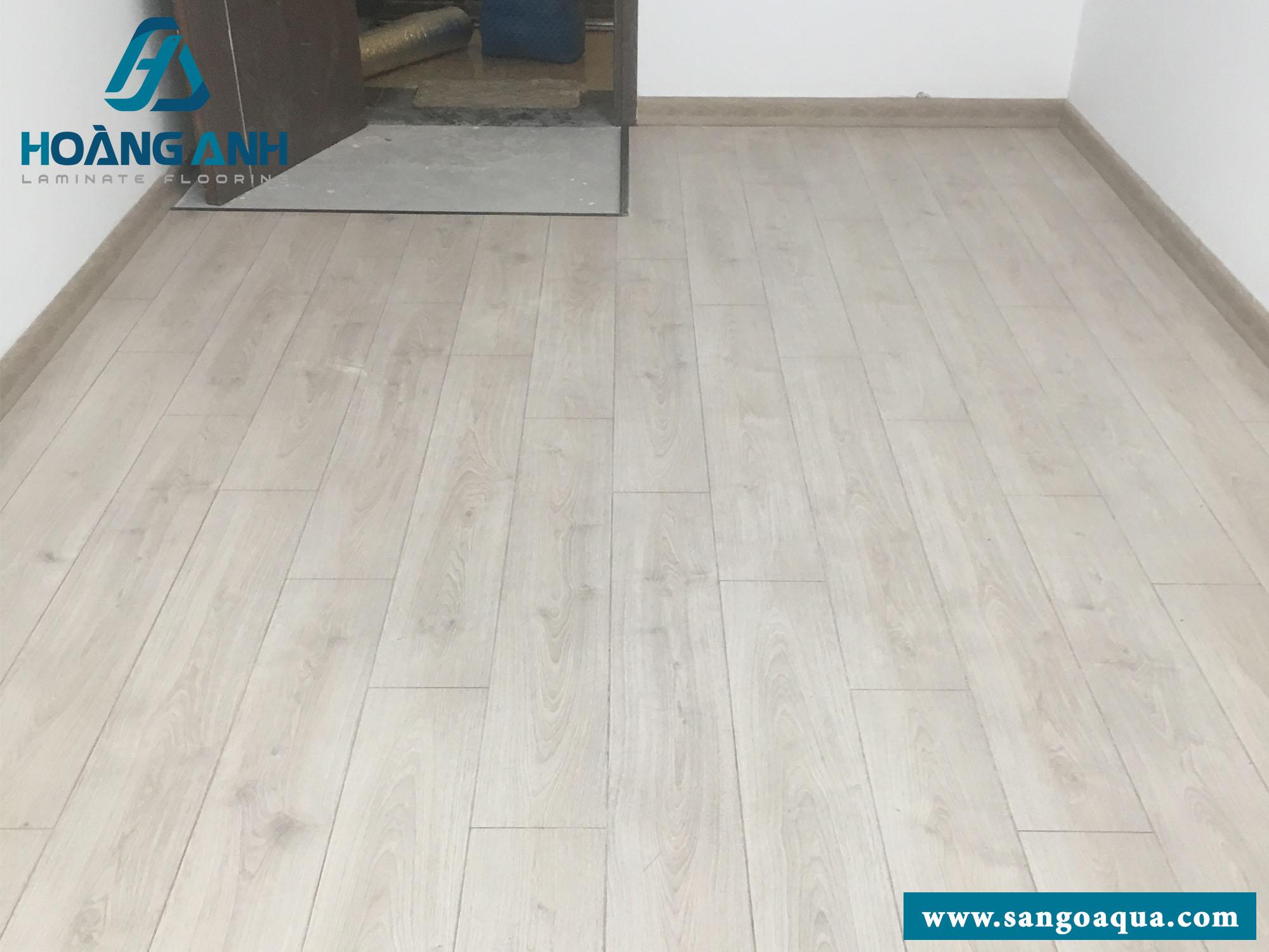Công trình sàn gỗ Egger Pro EPL080 chung cư quận 1