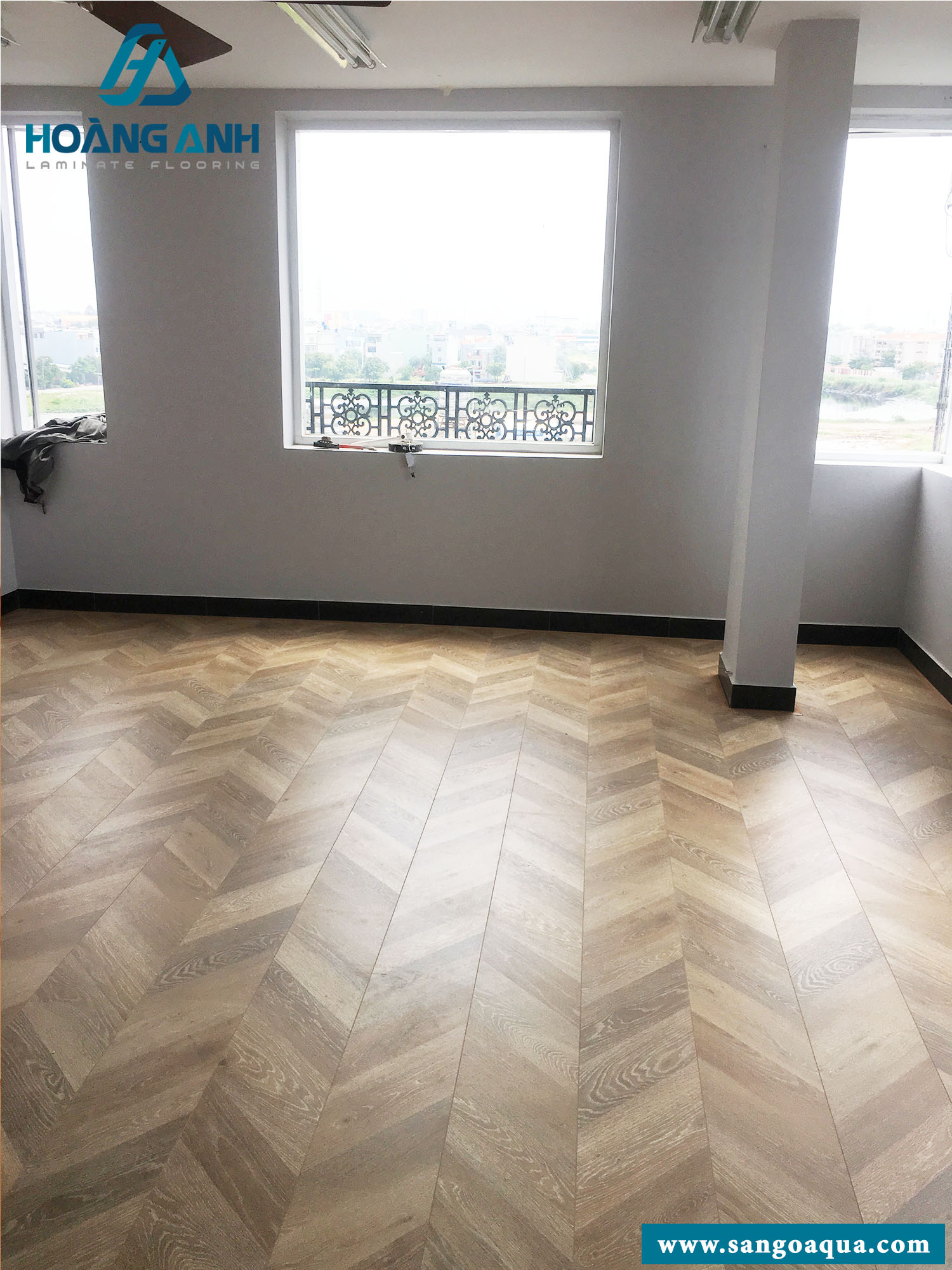 Công trình sàn gỗ Egger Pro Kingsize EPL009