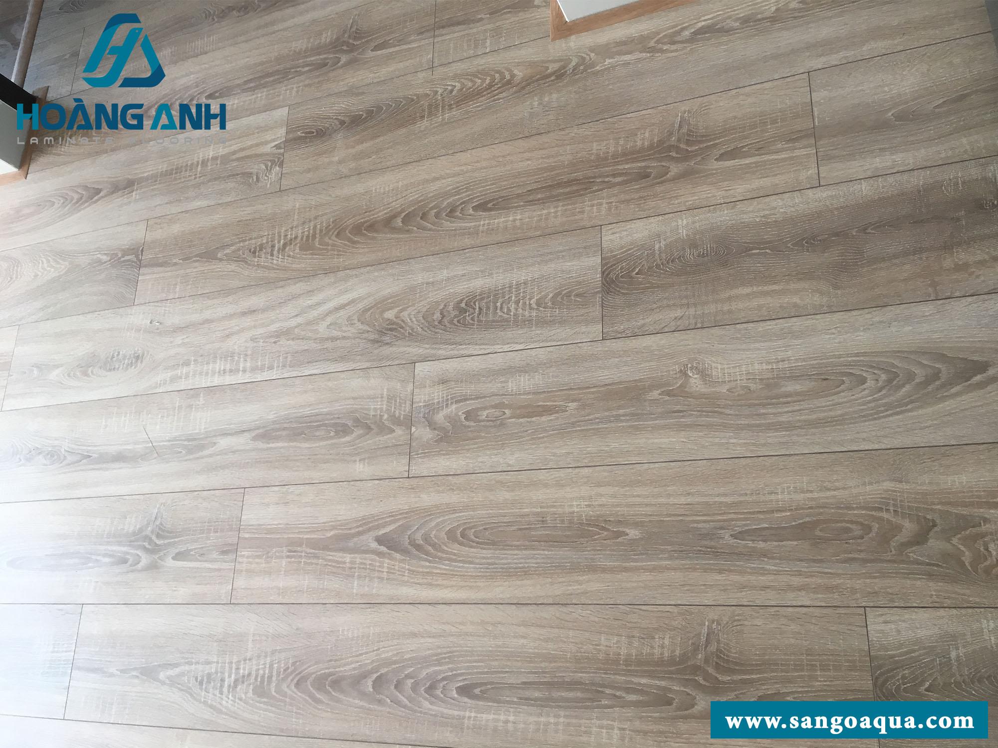 Công trình sàn gỗ Egger EPL035 8mm chung cư