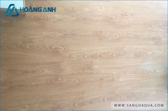 Công trình sàn gỗ Morser 8mm lõi xanh chịu nước