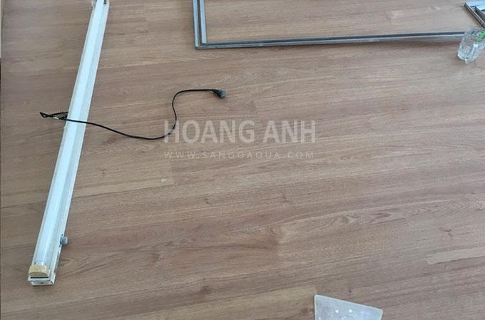 Công trình sàn gỗ Thaixin MF 3066