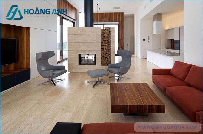 Không gian sàn gỗ Việt Nam đẹp mắt