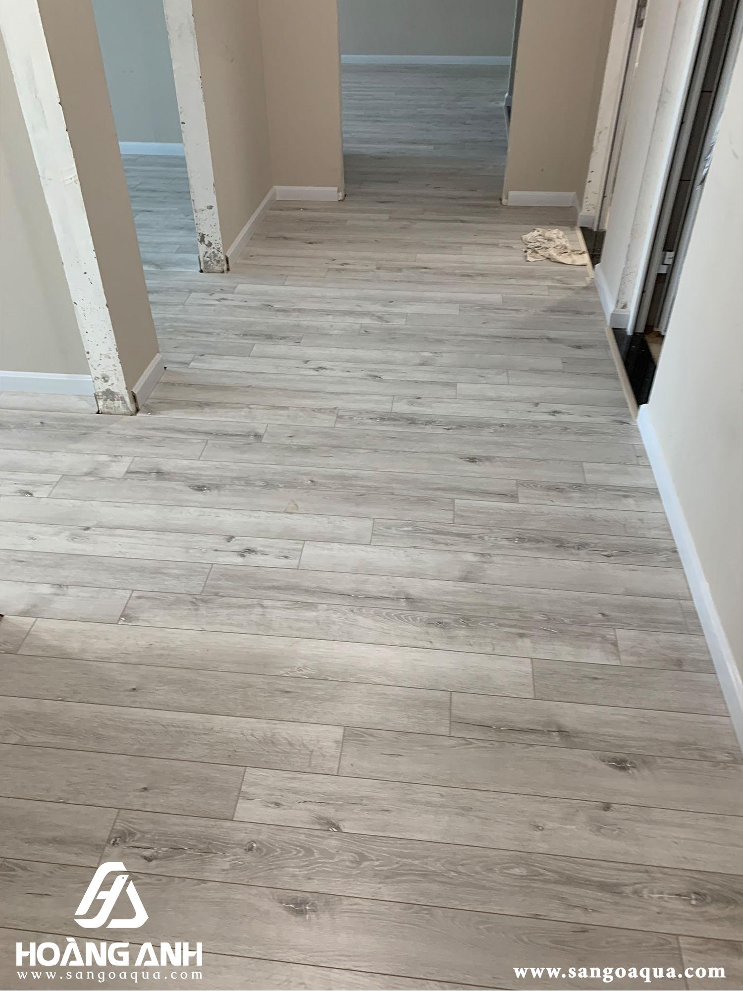 Công trình sàn gỗ Galamax Gold H2701 chung cư Petro quận 2