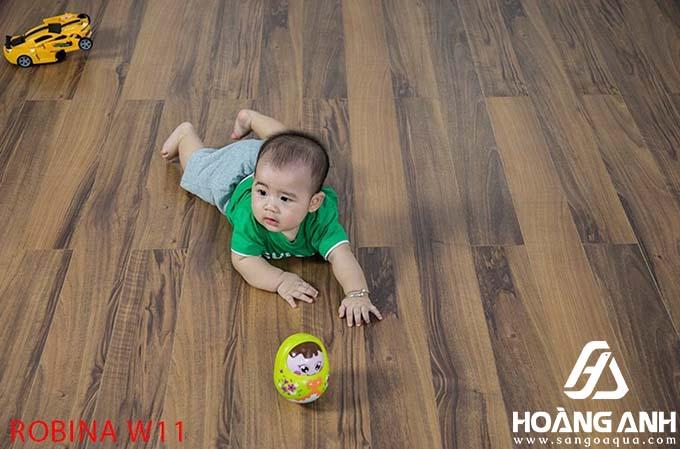 Sàn gỗ Robina Malaysia W11