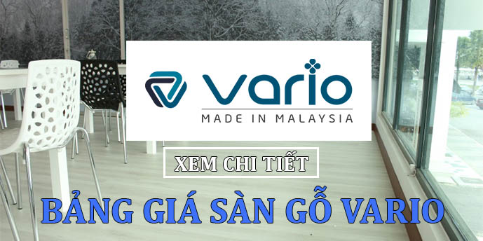 Bảng báo giá sàn gỗ Vario