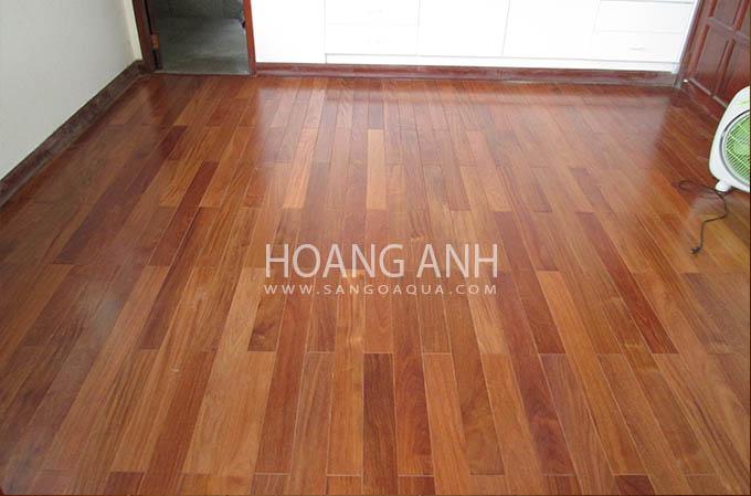 Công trình sàn gỗ tự nhiên