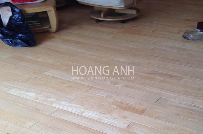 Sàn gỗ Cao Su tự nhiên