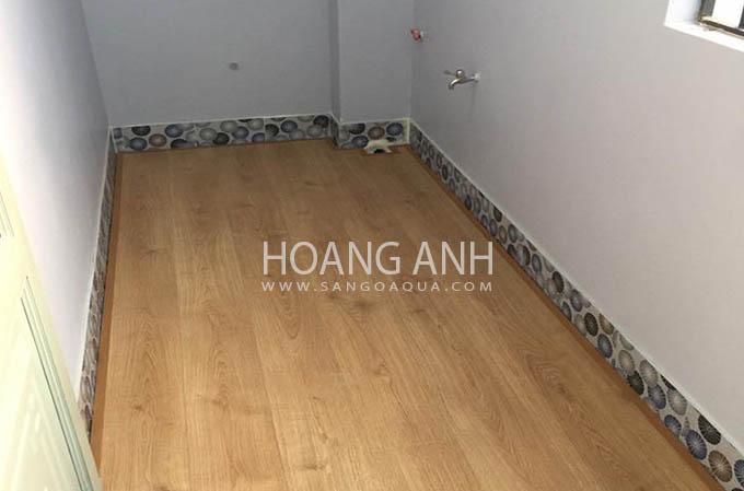 Công trình sàn gỗ egger aqua plus