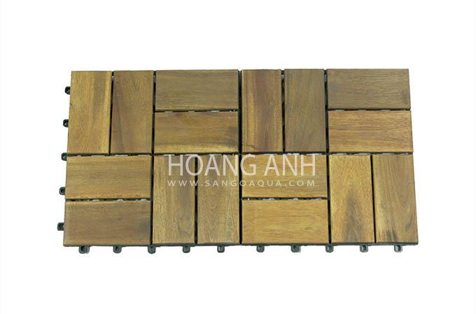 Mẫu lắp sàn gỗ Tràm Bông Vàng