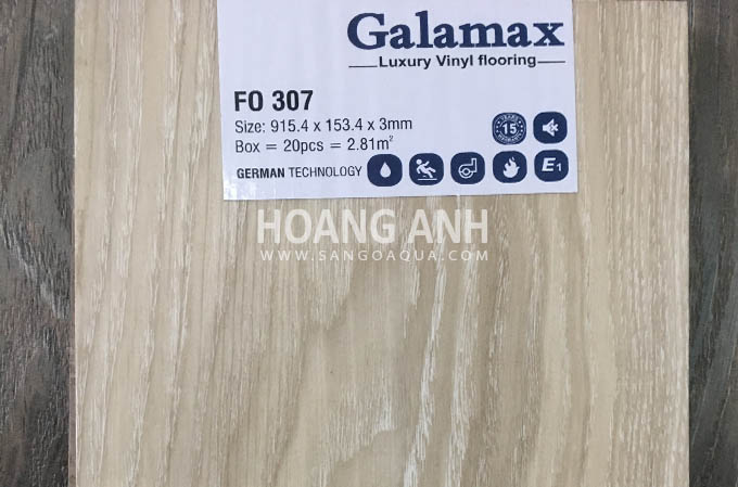Sàn nhựa Galamax Luxury Vinyl